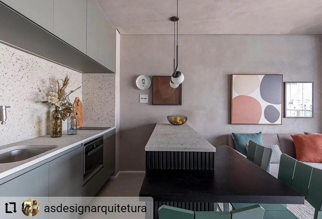 #Repost @asdesignarquitetura ... Cozinha charmosa